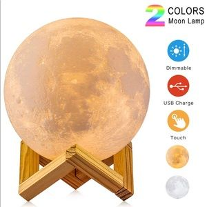 Other - 3.9 inch moon lamp